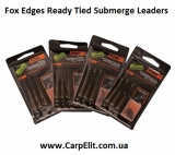 Готовая оснастка Fox Edges Ready Tied Submerge Leaders Greeen 30lb HR