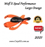 РАКЕТА Wolf X-Spod Performance Large Orange