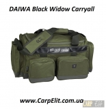 Сумка DAIWA Black Widow Carryall 40 литров для рыбалки