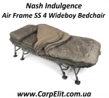 Nash Indulgence Air Frame SS 4 Wideboy Bedchair