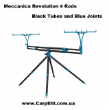 Rod-pod  Nick 95- Revolution Nero & Blue Meccanica Vadese 4 Rod