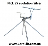 Nick evolution 4 rods steel (Серебряный)