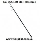 Удилище телескоп Fox EOS 12ft 3lb Telescopic