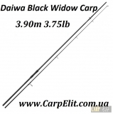 Удилище Daiwa Black Widow Carp 3.75lb 3.90m  NEW 2017 50 Кольцо