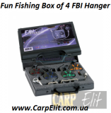 Fun Fishing Box of 4 FBI Hangerarp Pro