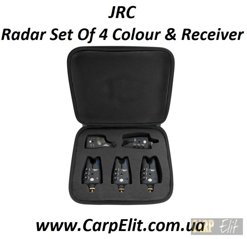 JRC Radar Set Of 4 Colour And Receiver