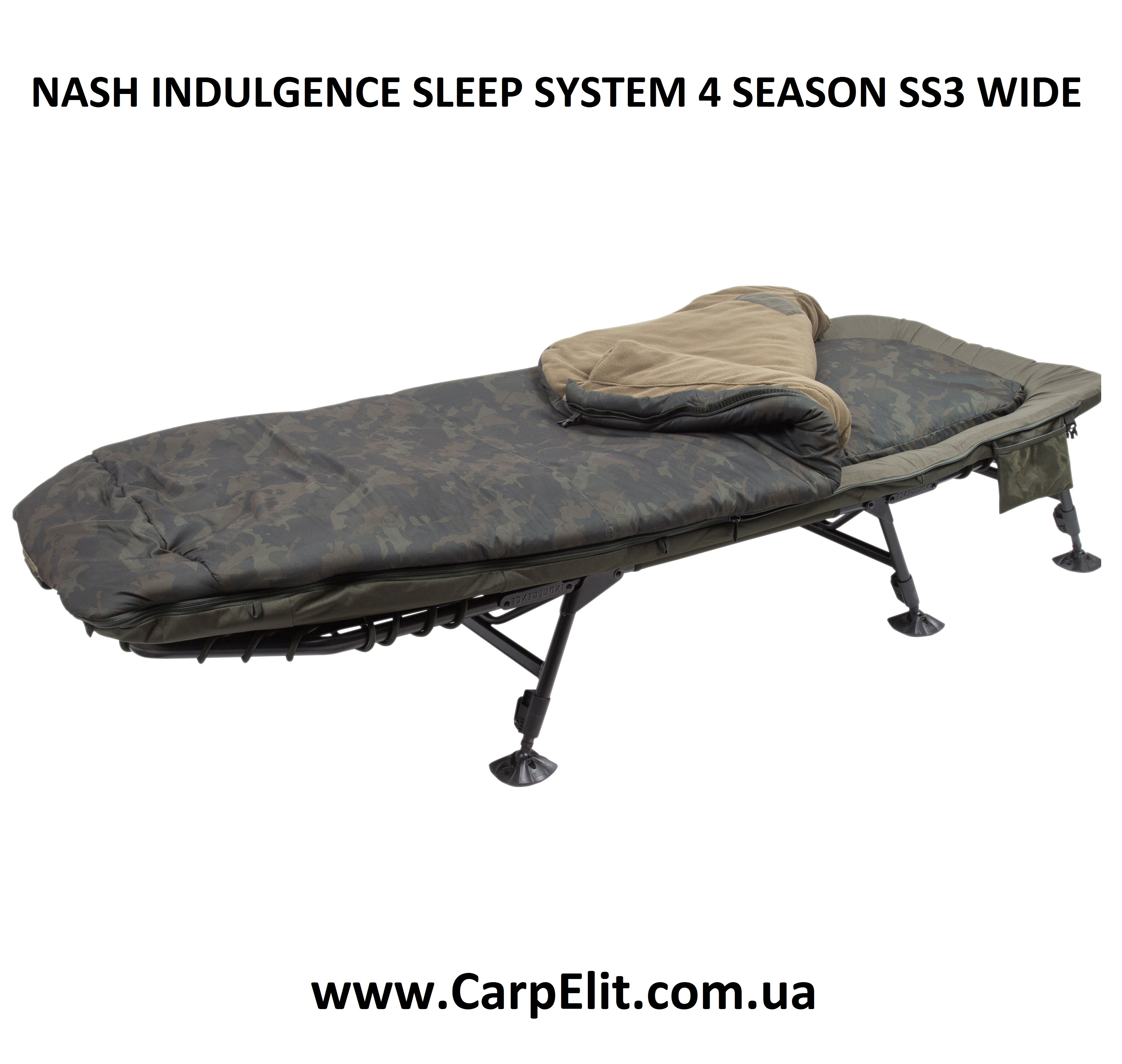 NASH INDULGENCE SLEEP SYSTEM 4 SEASON SS3 WIDE