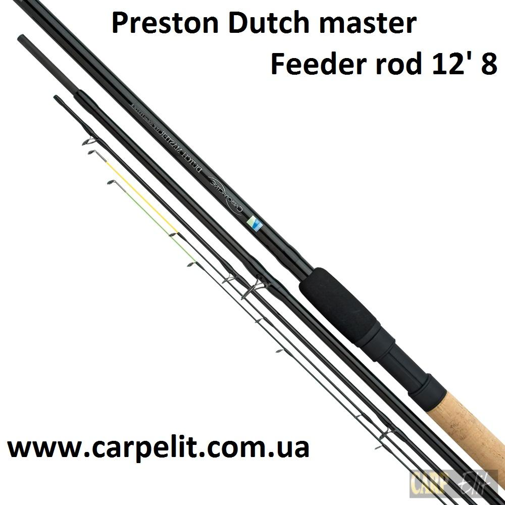 "Фидерное Удилище Preston Dutch master 12' 8"" Feeder rod"