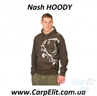 Nash HOODY Brown (XL)