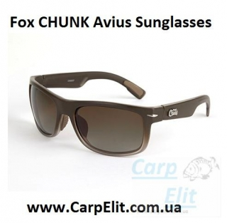 Fox CHUNK Avius Sunglasses - Charcoal Trans Frame/Brown Gradient Lens