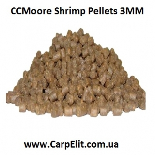Пеллетс CCMoore Shrimp Pellets 3MM
