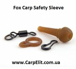 Клипса Fox Carp Safety Sleeve Brown