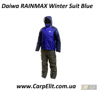 Daiwa RAINMAX Winter Suit Blue