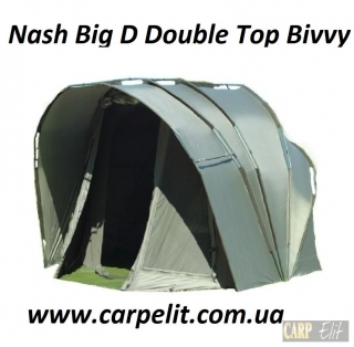 Nash Big D Double Top Bivvy