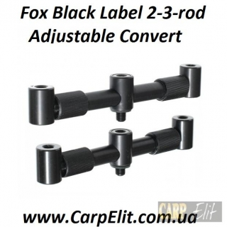Fox Black Label 2-3-rod Adjustable Convert