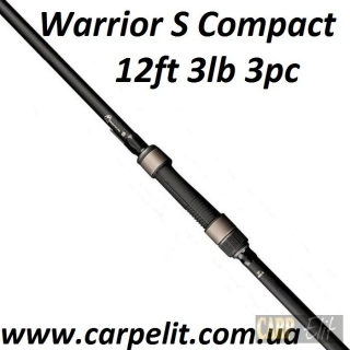 Warrior S Compact 12ft 3lb 3pc