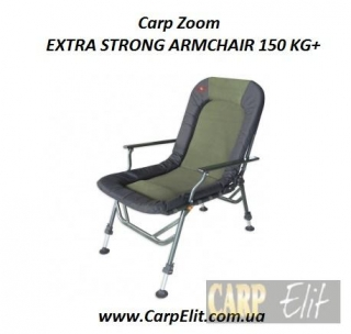 Carp Zoom EXTRA STRONG ARMCHAIR 150 KG+