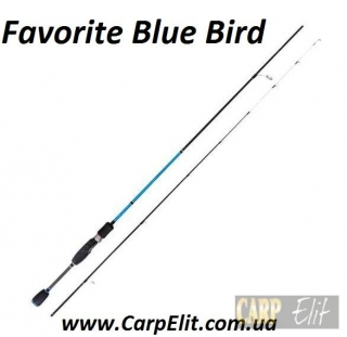 Спиннинг Favorite Blue Bird BB732MS-S  (Длина 2.04 Тест.г 0.5-5)