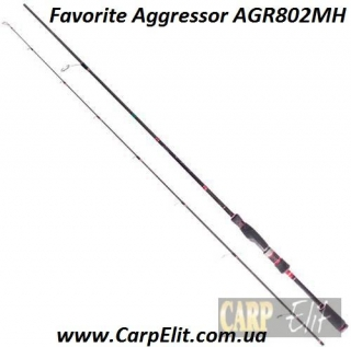Favorite Aggressor AGR802MH (Длина 2.40 Тест.г 5-20)
