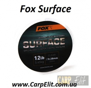 Леска Fox Surface 12lb/0.28mm
