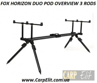 FOX HORIZON DUO POD OVERVIEW 3 RODS