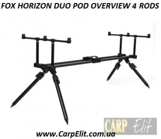 FOX HORIZON DUO POD OVERVIEW 4 RODS