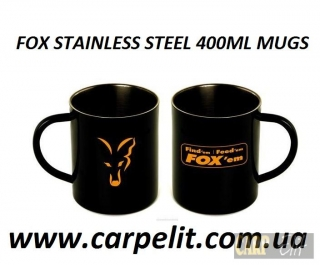 FOX Кружка STAINLESS STEEL 400ML MUGS