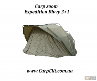 Carp zoom Expedition Bivvy 3+1
