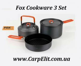 Fox Cookware 3 Set