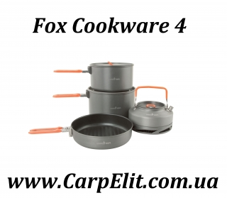 Fox Cookware 4 Set
