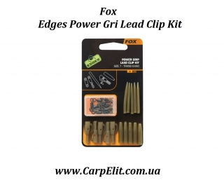 Fox Edges Power Gri Lead Clip Kit