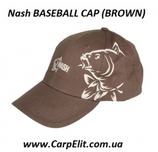 Nash BASEBALL CAP (BROWN)