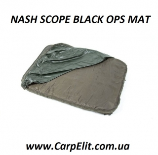 NASH SCOPE BLACK OPS MAT