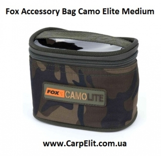 Fox Accessory Bag Camo Elite Medium