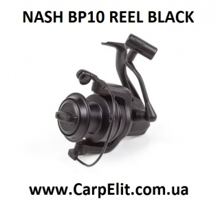 NASH BP10 REEL BLACK