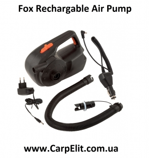 Fox Rechargable Air Pump  Deflator 12 V  240 V