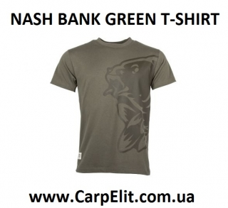 NASH BANK GREEN T-SHIRT
