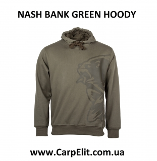 NASH BANK GREEN HOODY