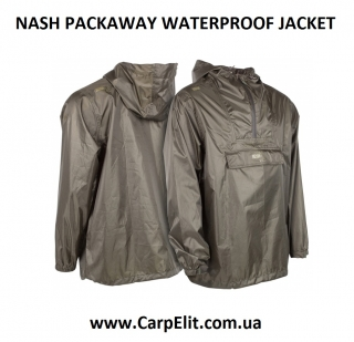 NASH PACKAWAY WATERPROOF JACKET