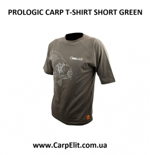 PROLOGIC CARP T-SHIRT SHORT GREEN