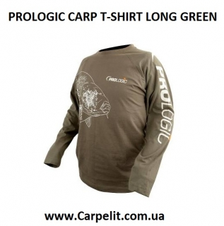 PROLOGIC CARP T-SHIRT LONG GREEN