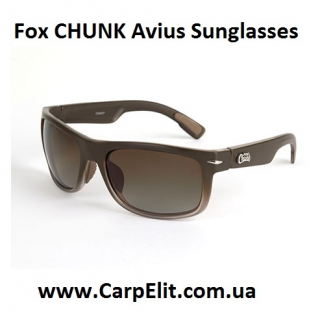 Fox CHUNK Avius Sunglasses - Charcoal Trans Frame/Grey Lens