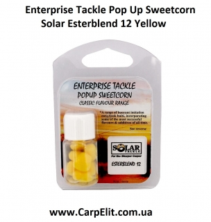 Enterprise Tackle Pop Up Sweetcorn Solar Esterblend 12 Yellow