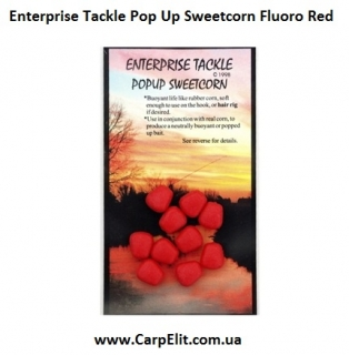 Enterprise Tackle Pop Up Sweetcorn Fluoro Red