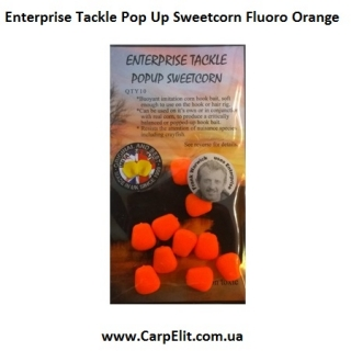 Enterprise Tackle Pop Up Sweetcorn Fluoro Orange