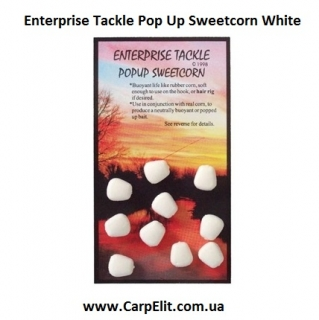 Enterprise Tackle Pop Up Sweetcorn White