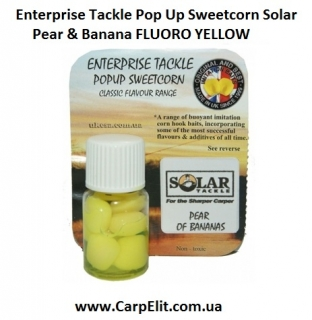 Enterprise Tackle Pop Up Sweetcorn Solar Pear & Banana FLUORO YELLOW