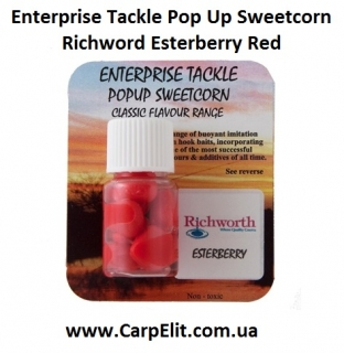 Enterprise Tackle Pop Up Sweetcorn Richword Esterberry Red