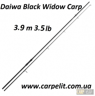 Удилище Daiwa Black Widow 17 Carp 13ft 3.5lb