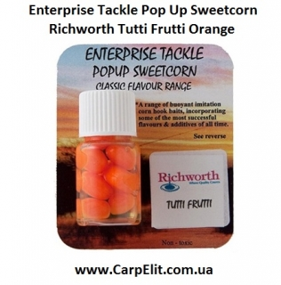 Enterprise Tackle Pop Up Sweetcorn Richworth Tutti Frutti Orange